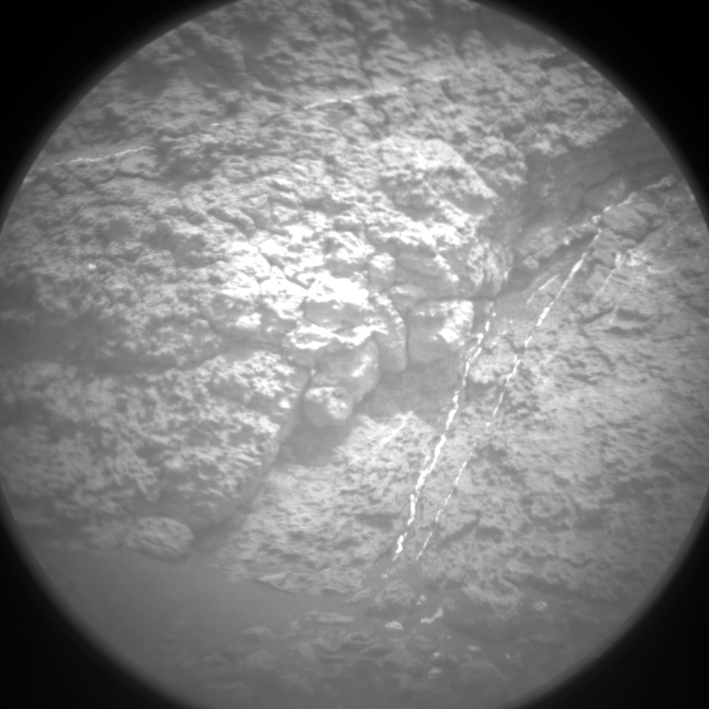 Nasa's Mars rover Curiosity acquired this image using its Chemistry & Camera (ChemCam) on Sol 1473, at drive 642, site number 58