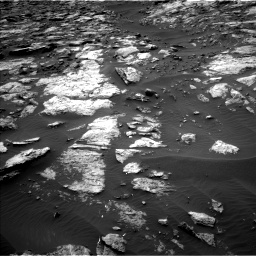 Nasa's Mars rover Curiosity acquired this image using its Left Navigation Camera on Sol 1473, at drive 654, site number 58