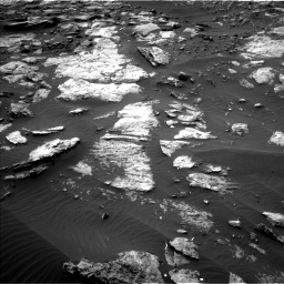 Nasa's Mars rover Curiosity acquired this image using its Left Navigation Camera on Sol 1473, at drive 660, site number 58