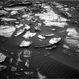 Nasa's Mars rover Curiosity acquired this image using its Left Navigation Camera on Sol 1473, at drive 672, site number 58