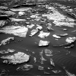 Nasa's Mars rover Curiosity acquired this image using its Left Navigation Camera on Sol 1473, at drive 678, site number 58