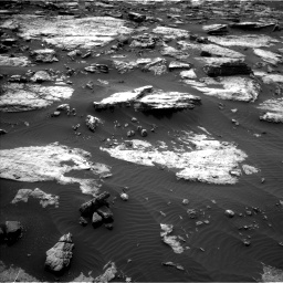 Nasa's Mars rover Curiosity acquired this image using its Left Navigation Camera on Sol 1473, at drive 702, site number 58