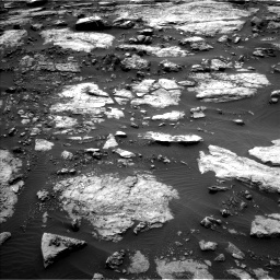 NASA's Mars rover Curiosity acquired this image using its Left Navigation Camera (Navcams) on Sol 1473