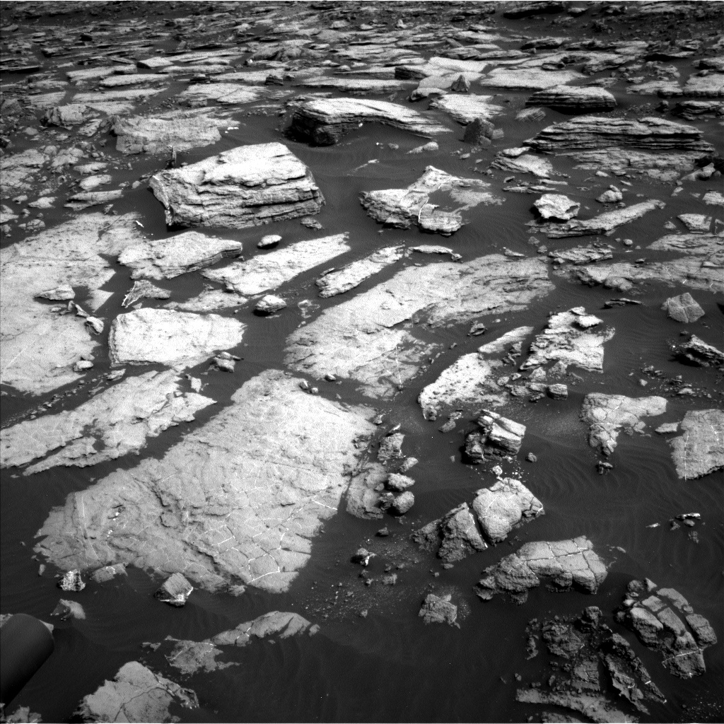Nasa's Mars rover Curiosity acquired this image using its Left Navigation Camera on Sol 1473, at drive 738, site number 58