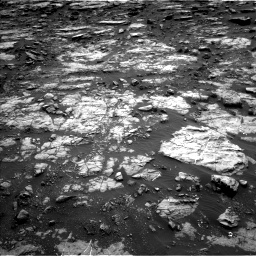 Nasa's Mars rover Curiosity acquired this image using its Left Navigation Camera on Sol 1473, at drive 762, site number 58
