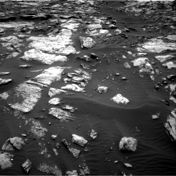 Nasa's Mars rover Curiosity acquired this image using its Right Navigation Camera on Sol 1473, at drive 642, site number 58