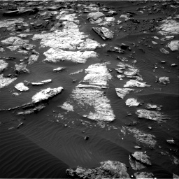 Nasa's Mars rover Curiosity acquired this image using its Right Navigation Camera on Sol 1473, at drive 666, site number 58