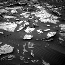 Nasa's Mars rover Curiosity acquired this image using its Right Navigation Camera on Sol 1473, at drive 678, site number 58