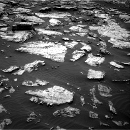 Nasa's Mars rover Curiosity acquired this image using its Right Navigation Camera on Sol 1473, at drive 684, site number 58