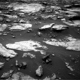 Nasa's Mars rover Curiosity acquired this image using its Right Navigation Camera on Sol 1473, at drive 708, site number 58