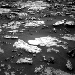 Nasa's Mars rover Curiosity acquired this image using its Right Navigation Camera on Sol 1473, at drive 714, site number 58