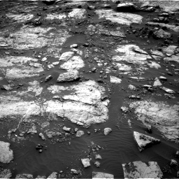 Nasa's Mars rover Curiosity acquired this image using its Right Navigation Camera on Sol 1473, at drive 738, site number 58