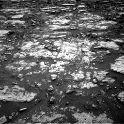 Nasa's Mars rover Curiosity acquired this image using its Right Navigation Camera on Sol 1473, at drive 768, site number 58