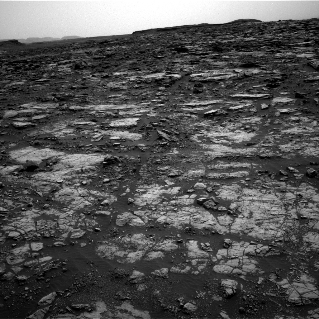 Nasa's Mars rover Curiosity acquired this image using its Right Navigation Camera on Sol 1473, at drive 774, site number 58