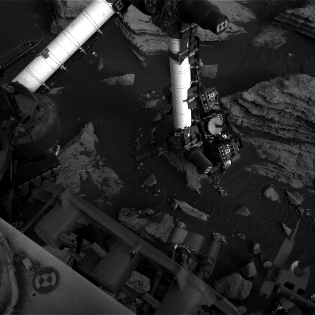 Nasa's Mars rover Curiosity acquired this image using its Left Navigation Camera on Sol 1474, at drive 774, site number 58