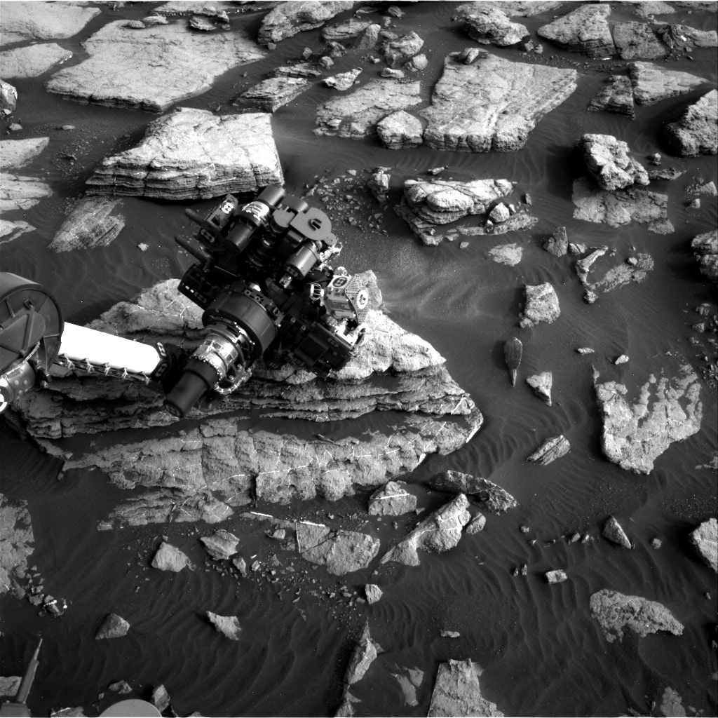 Nasa's Mars rover Curiosity acquired this image using its Right Navigation Camera on Sol 1474, at drive 774, site number 58