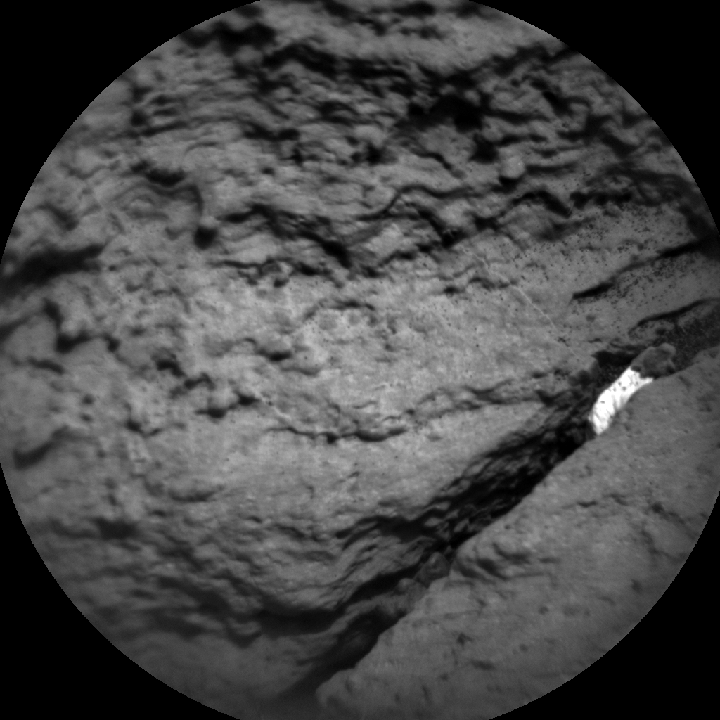Nasa's Mars rover Curiosity acquired this image using its Chemistry & Camera (ChemCam) on Sol 1474, at drive 774, site number 58