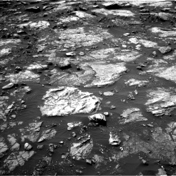 Nasa's Mars rover Curiosity acquired this image using its Left Navigation Camera on Sol 1475, at drive 786, site number 58