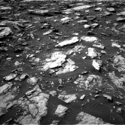 Nasa's Mars rover Curiosity acquired this image using its Left Navigation Camera on Sol 1475, at drive 846, site number 58