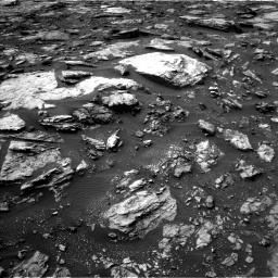 Nasa's Mars rover Curiosity acquired this image using its Left Navigation Camera on Sol 1475, at drive 864, site number 58