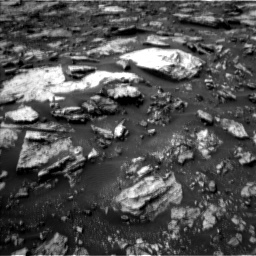 Nasa's Mars rover Curiosity acquired this image using its Left Navigation Camera on Sol 1475, at drive 870, site number 58