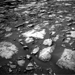 Nasa's Mars rover Curiosity acquired this image using its Left Navigation Camera on Sol 1475, at drive 894, site number 58
