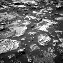 Nasa's Mars rover Curiosity acquired this image using its Right Navigation Camera on Sol 1475, at drive 798, site number 58