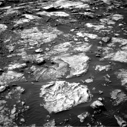Nasa's Mars rover Curiosity acquired this image using its Right Navigation Camera on Sol 1475, at drive 804, site number 58