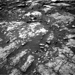 Nasa's Mars rover Curiosity acquired this image using its Right Navigation Camera on Sol 1475, at drive 822, site number 58
