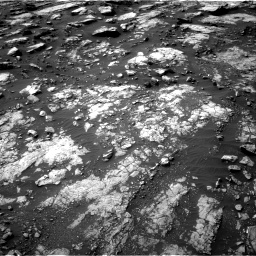 Nasa's Mars rover Curiosity acquired this image using its Right Navigation Camera on Sol 1475, at drive 828, site number 58