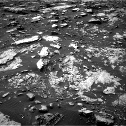 Nasa's Mars rover Curiosity acquired this image using its Right Navigation Camera on Sol 1475, at drive 840, site number 58