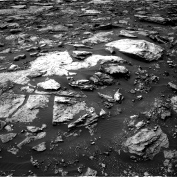 Nasa's Mars rover Curiosity acquired this image using its Right Navigation Camera on Sol 1475, at drive 876, site number 58