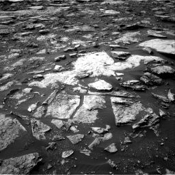 Nasa's Mars rover Curiosity acquired this image using its Right Navigation Camera on Sol 1475, at drive 882, site number 58