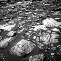 Nasa's Mars rover Curiosity acquired this image using its Right Navigation Camera on Sol 1475, at drive 888, site number 58