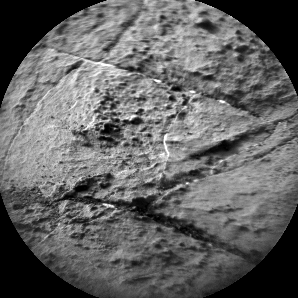 Nasa's Mars rover Curiosity acquired this image using its Chemistry & Camera (ChemCam) on Sol 1475, at drive 912, site number 58