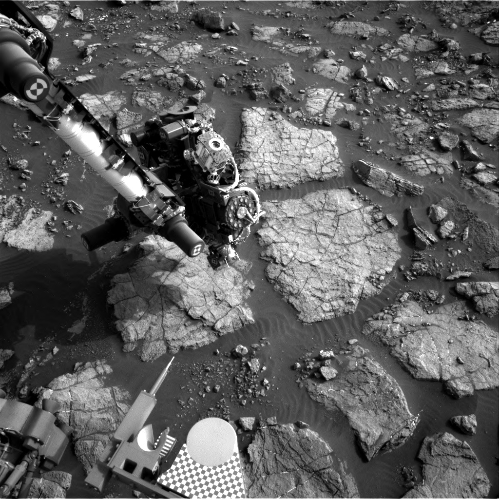 Nasa's Mars rover Curiosity acquired this image using its Right Navigation Camera on Sol 1477, at drive 912, site number 58