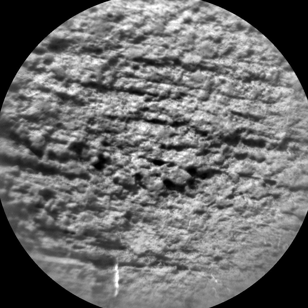 Nasa's Mars rover Curiosity acquired this image using its Chemistry & Camera (ChemCam) on Sol 1477, at drive 912, site number 58