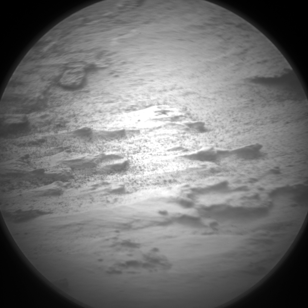 Nasa's Mars rover Curiosity acquired this image using its Chemistry & Camera (ChemCam) on Sol 1478, at drive 1002, site number 58