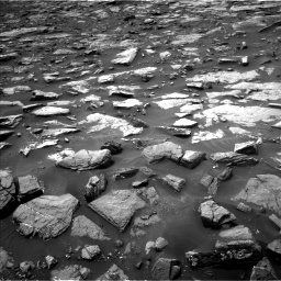 Nasa's Mars rover Curiosity acquired this image using its Left Navigation Camera on Sol 1478, at drive 960, site number 58