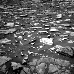 Nasa's Mars rover Curiosity acquired this image using its Left Navigation Camera on Sol 1478, at drive 972, site number 58