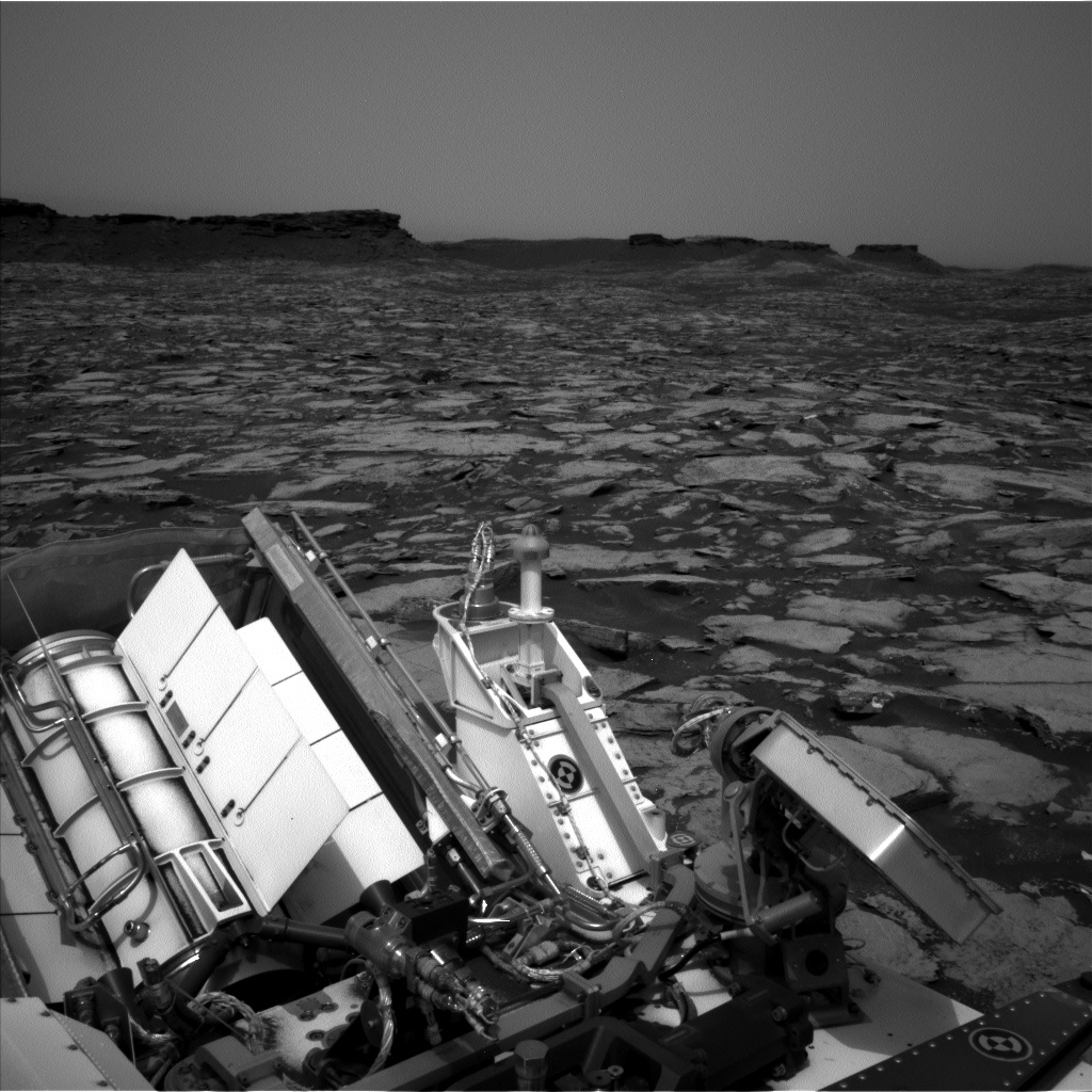 Nasa's Mars rover Curiosity acquired this image using its Left Navigation Camera on Sol 1478, at drive 1002, site number 58