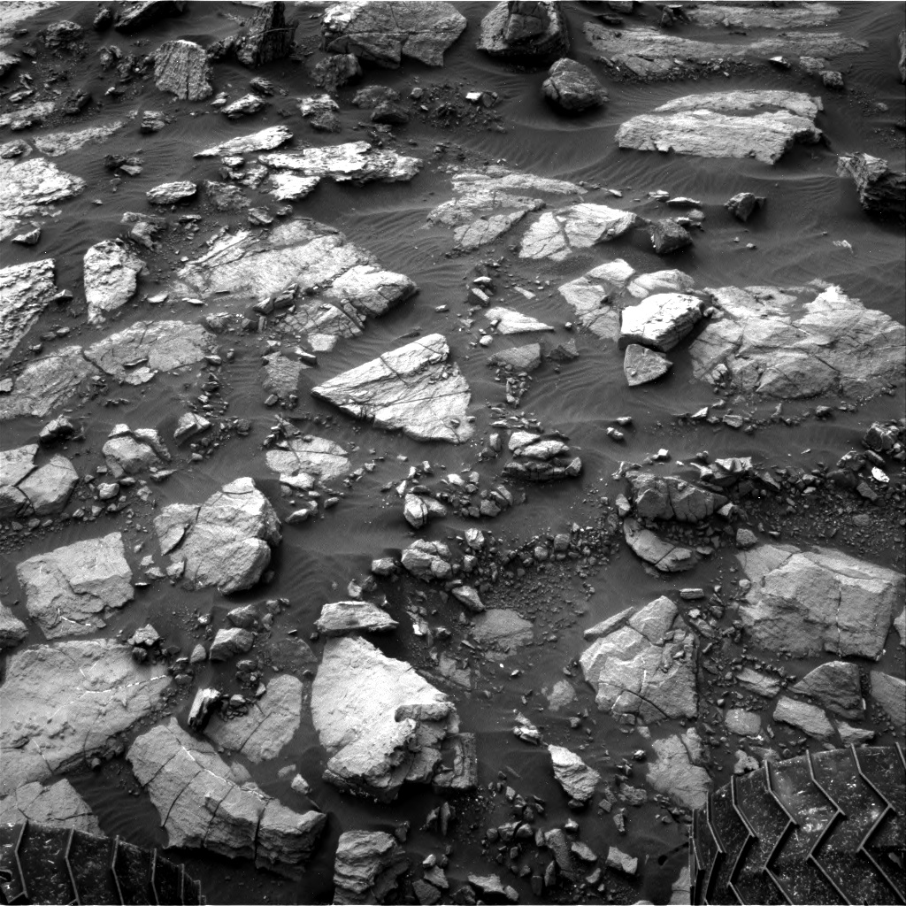 Nasa's Mars rover Curiosity acquired this image using its Right Navigation Camera on Sol 1478, at drive 1002, site number 58