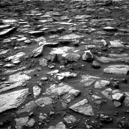 Nasa's Mars rover Curiosity acquired this image using its Left Navigation Camera on Sol 1480, at drive 1002, site number 58