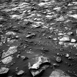 Nasa's Mars rover Curiosity acquired this image using its Left Navigation Camera on Sol 1480, at drive 1068, site number 58