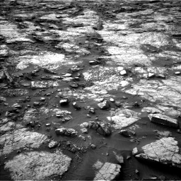 Nasa's Mars rover Curiosity acquired this image using its Left Navigation Camera on Sol 1480, at drive 1122, site number 58