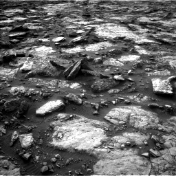 Nasa's Mars rover Curiosity acquired this image using its Left Navigation Camera on Sol 1480, at drive 1152, site number 58