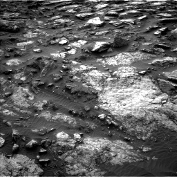 Nasa's Mars rover Curiosity acquired this image using its Left Navigation Camera on Sol 1480, at drive 1194, site number 58