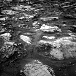 Nasa's Mars rover Curiosity acquired this image using its Left Navigation Camera on Sol 1480, at drive 1236, site number 58