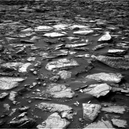 Nasa's Mars rover Curiosity acquired this image using its Right Navigation Camera on Sol 1480, at drive 1038, site number 58