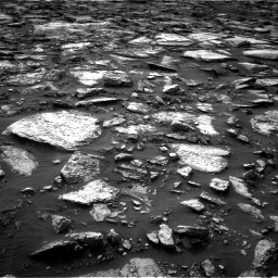 Nasa's Mars rover Curiosity acquired this image using its Right Navigation Camera on Sol 1480, at drive 1050, site number 58